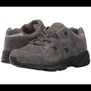 Propet Stability Walker Suede Diabetic Shoe Sz 13